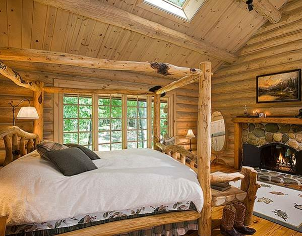 Respite Lodge Custom Handcrafted Log Homes By Maple