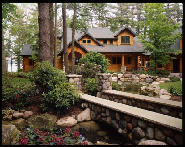 Grand Traverse Custom Handcrafted Log Homes By Maple