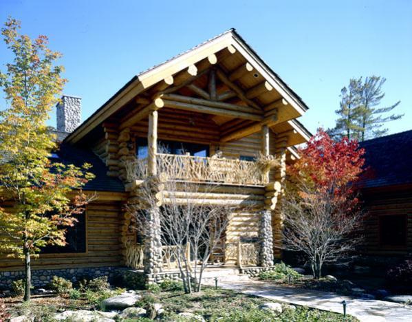 Maple Island Log Homes Floor Plans