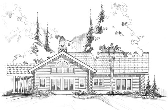 Au-Sable Carriage House Plans Sq Ft on single floor, one level 4-bedroom, ranch style, brick home big bedrooms, open floor, ranch hip, farmhouse 1-story,